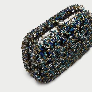 Zara Beaded Minaudiere